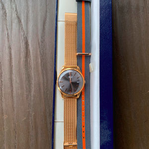 Henry London RETRO LOOK Rose Gold Watch
